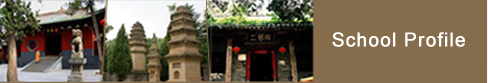 the China Shaolin Temple where kung fu lessons and retreats are held in China.