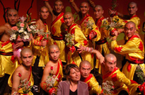 kungfu performance team