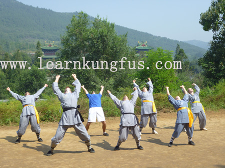 Learn Baduanjin and Yijinjing