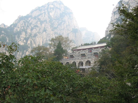 San Huang Monastery-Learn kung fu in China