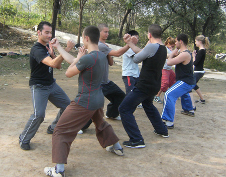 learn shaolin kung fu in China