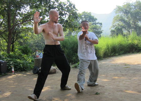 learn tai chi with master